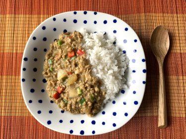温活レシピ とうがんキーマカレー