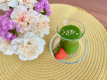 【レシピあり】夏の温活&妊活に!葉酸を取り入れた温活グリーンスムージー