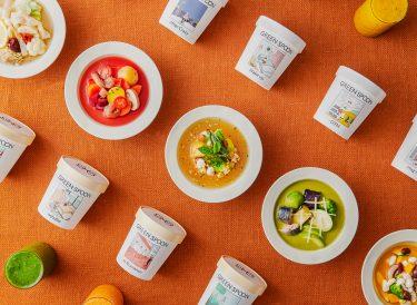 定額制パーソナルフードの「GREEN SPOON」から、野菜とゴロゴロ食材のパーソナルスープ15種を11月16日(月)より販売開始!